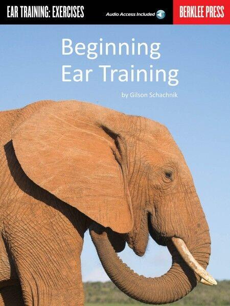 Beginning Ear Training Berklee Guide Book and Audio NEW 050449548