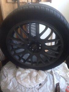 New Falken tires on Tenzo rims.