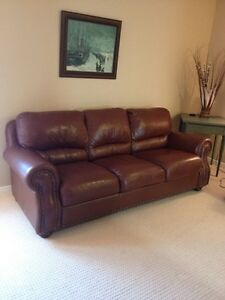 Like NEW leather couch!!!
