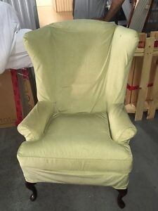 2 x Wingback Down Filled Chairs - $500. OBO