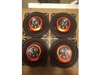 Edge car speakers parcel shelf 120w