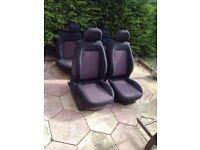 Corsa d sxi 2008 3 door seats interior no rips or burns 07594145438