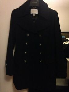 Women's wool coat size 8