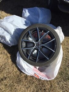 Tire and rim  R18