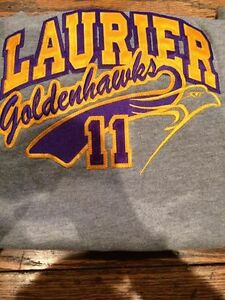 Wilfred Laurier Size Large Youth Hoodie Like new Fits Ladies Med