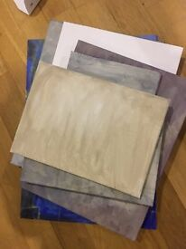 Free 7 artist's canvases