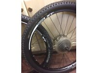 Mountain bike wheel set 26""