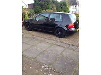 Black VW Golf for sale