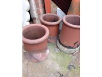 5x Chimney pots good condition