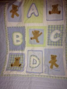 Crib bedding and toddler bed blankets and sheet