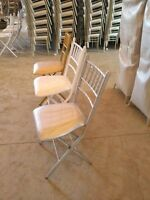 Beautiful, Modern, Affordable Chiavari Chairs for Rent