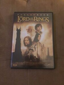 Lord of the Rings: The Two Towers DVD