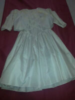 Minature bride/communion dress