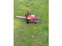 Sovereign petrol chainsaw 37.2cc good cond works great can be seen working cb5 £60