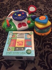 FisherPrice, ELC & Chicco Toy Bundle