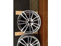 BMW M-Sport wheels F30, F31, F32 335d 335i