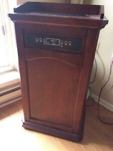 Decorative portable AC/Heater and dehumidifier