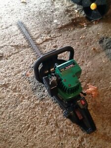 Gas powered hedge trimmer $75 just serviced
