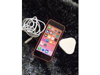 iPhone 5c pink 8gb sim free