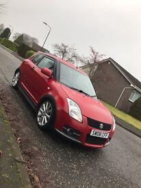 Suzuki swift sport 1.6 16v low mileage clean example