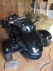 2012 CAN AM SPIDER RS