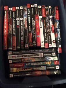 PS2 with Case, Games and Controllers  Strathcona County Edmonton Area image 4