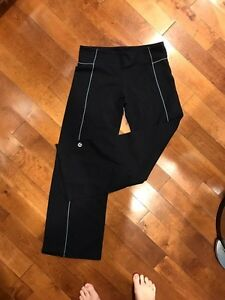 Black Lululemon Groove pants