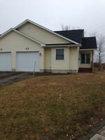 Bungalow style semi with garage in Moncton's North End