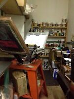 Screen printing equipment- REDUCED