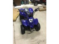 110cc quad brand new still warranty on it