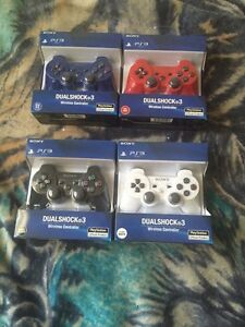 4 Brand new in Box ps3 Controllers