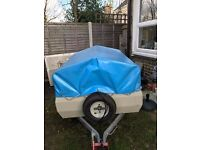 accord trailer with top good condition Just had new tyres