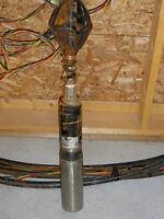 Pompe de puits artésien