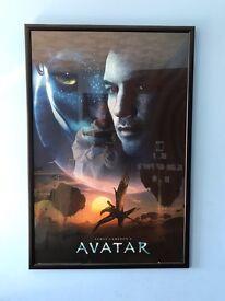 Avatar - set of 3 framed poster size prints