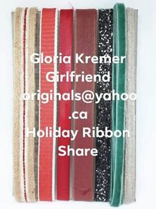 Stampin' Up! Holiday Catalog Ribbon Share