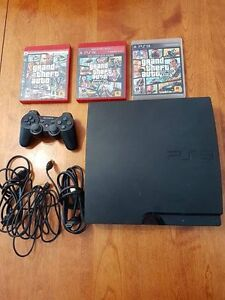 Playstation 3 Grand Theft Auto bundle