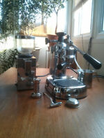 La Pavoni Europiccola 8 and Isomac grinder