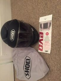 Black Shoei helmet size L