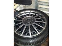 "Mk1 focus ST 17"" alloys .. Mint. Ford 4x108."