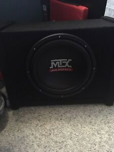 "MTX 10"" Subwoofer and Amp West Island Greater Montréal image 1"