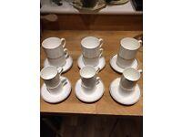 Royal Doulton Bone China Tea & Coffee Set (24 pcs)