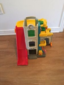 Fisher price garage . AVAILABLE