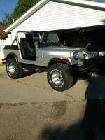 1980 JEEP CJ-7 with 360 V8 Second Owner