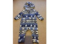 Quicksilver Onesie/Snowsuit 12 Months