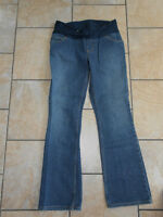 Three brand name maternity jeans size small. (Could fit Med)
