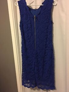 Blue lace dress $40 from Suzy Shier Kingston Kingston Area image 2