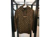 LOUIS VUITTON SUPREME HOODIE FOR SALE!!