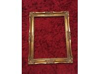 Vintage frame, shabby chic project? Photo Booth Prop?