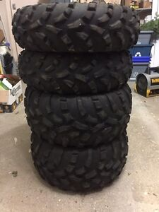 Atv. 25x11-12 and 25x8-12. Tires $60