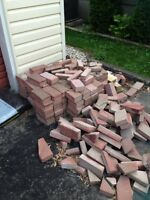 Pavers and cement step
